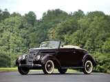 Ford V8 Deluxe Convertible (78-760) 1937 photos