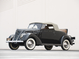 Ford V8 Deluxe Convertible (78-760) 1937 pictures