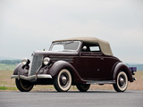 Images of Ford V8 Deluxe Convertible Coupe (68-730) 1936