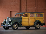 Pictures of Ford V8 Deluxe Station Wagon (48-790) 1935