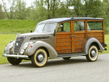 Pictures of Ford V8 Utility Car by Murray (78) 1937
