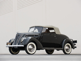 Pictures of Ford V8 Deluxe Convertible (78-760) 1937