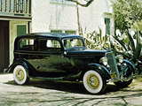 Ford V8 Tudor Sedan (40-700) 1933 wallpapers
