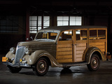 Ford V8 Station Wagon (68-790) 1936 wallpapers