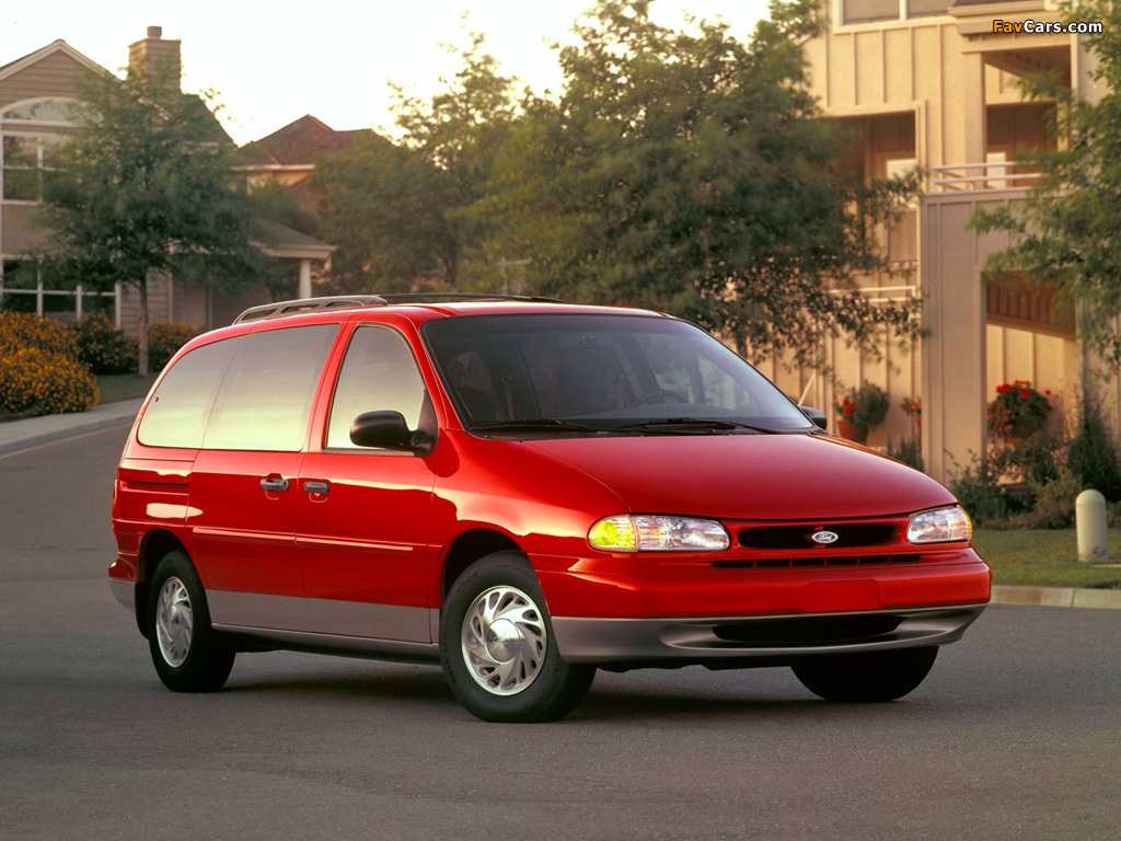 Ford Windstar 1994–97 wallpapers (1024 x 768)