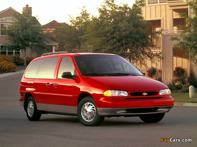 Ford Windstar 1994–97 wallpapers (640 x 480)