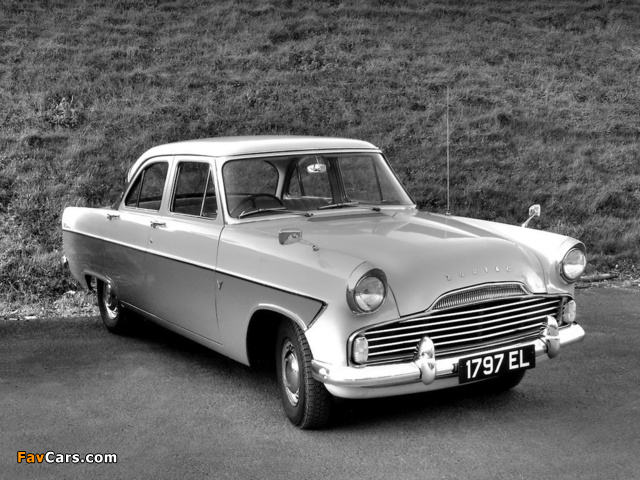 Ford Zodiac Saloon (206E) 1956–62 wallpapers (640 x 480)