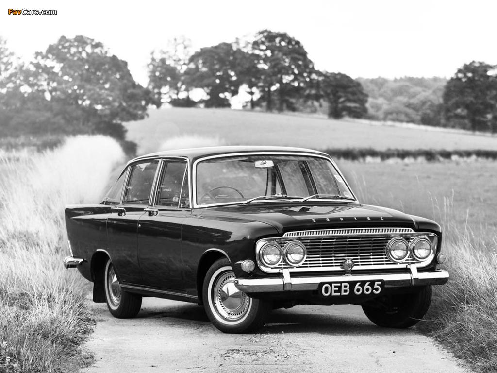 Photos of Ford Zodiac (III) 1962–66 (1024 x 768)