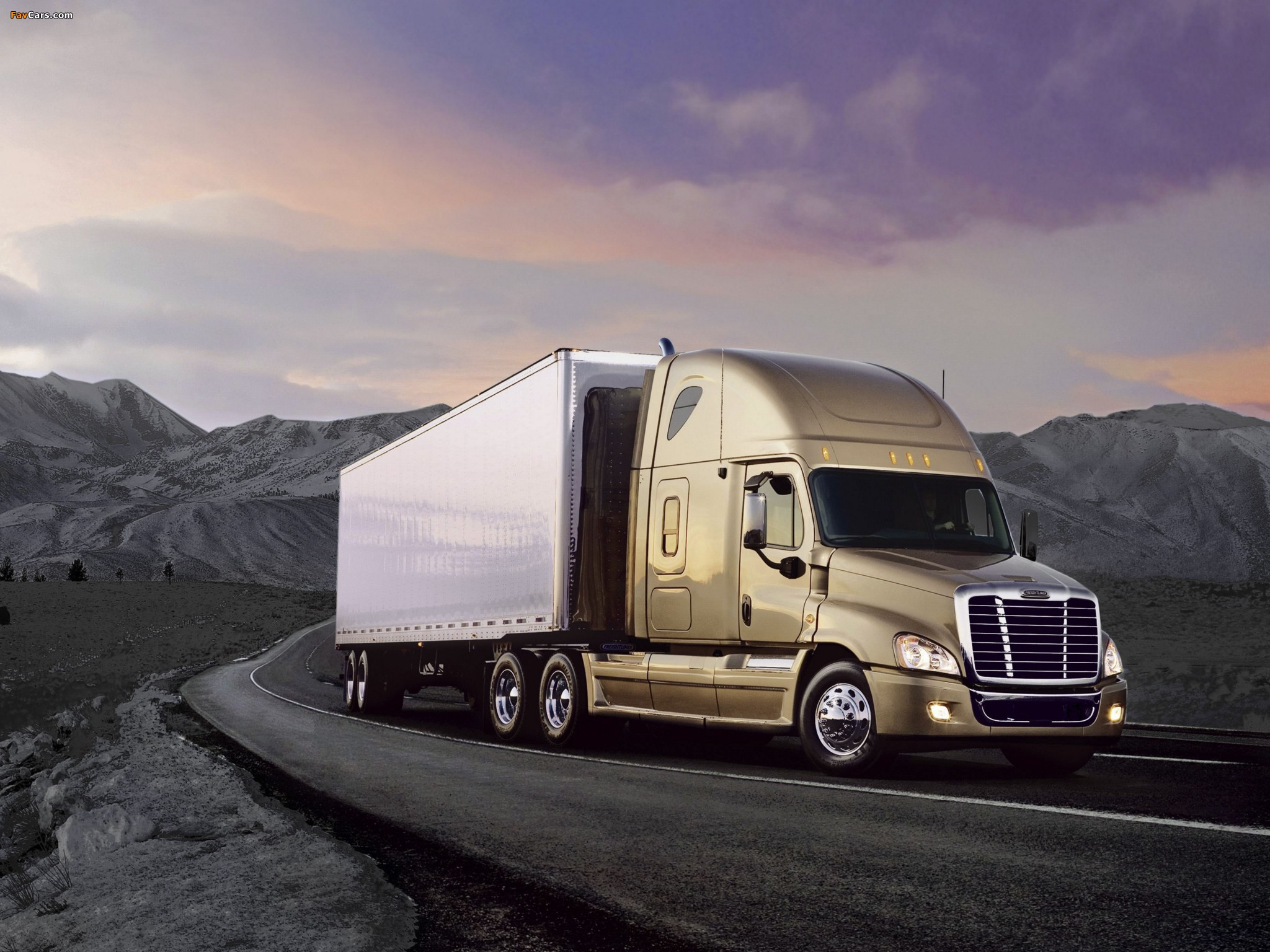 Freightliner Cascadia Raised Roof 2007 wallpapers (2048 x 1536)