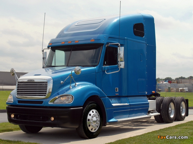 Freightliner Columbia Raised Roof 2000 pictures (640 x 480)