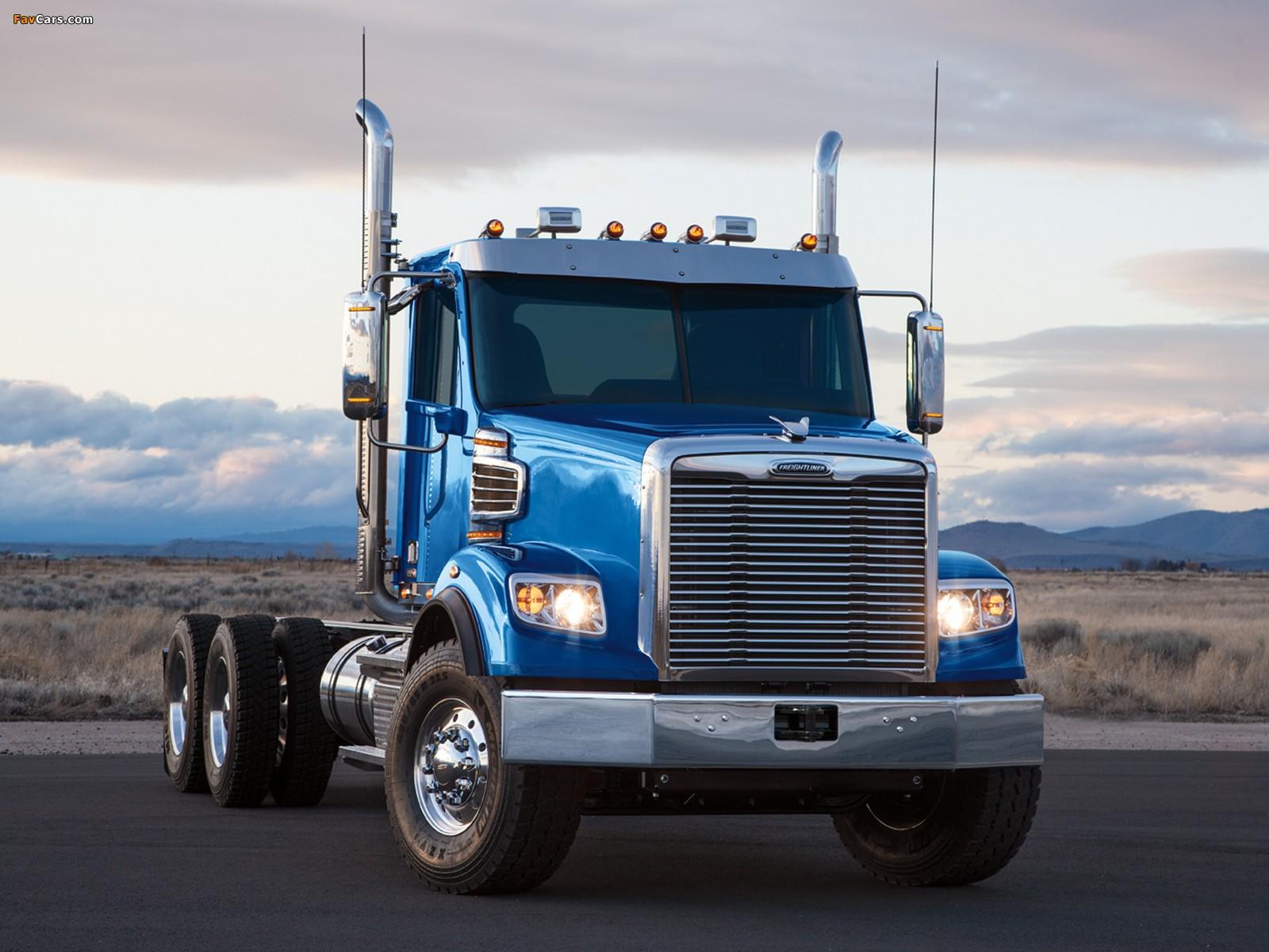 Images of Freightliner Coronado SD 2009 (1600 x 1200)
