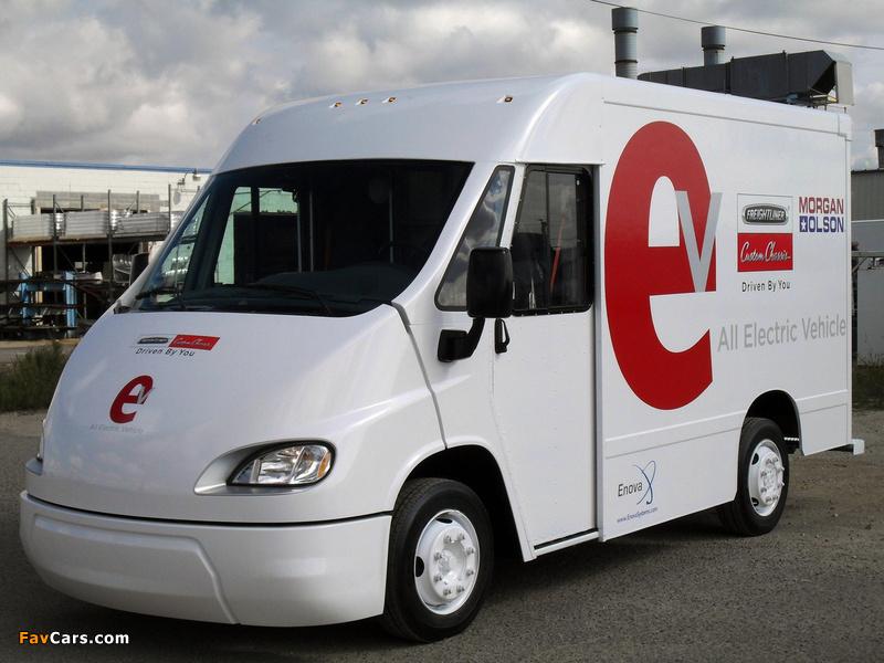 Enova AEV by Freightliner Custom Chassis & Morgan Olson 2010 photos (800 x 600)