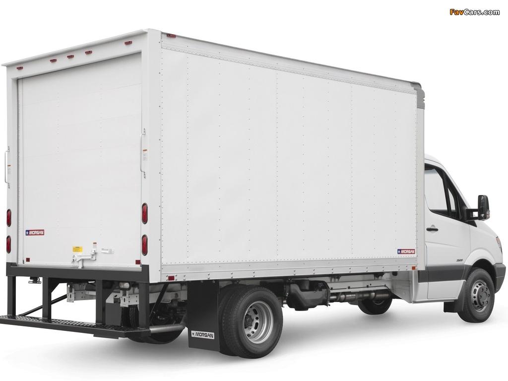 Freightliner Sprinter 3500 Box Van 2006 wallpapers (1024 x 768)