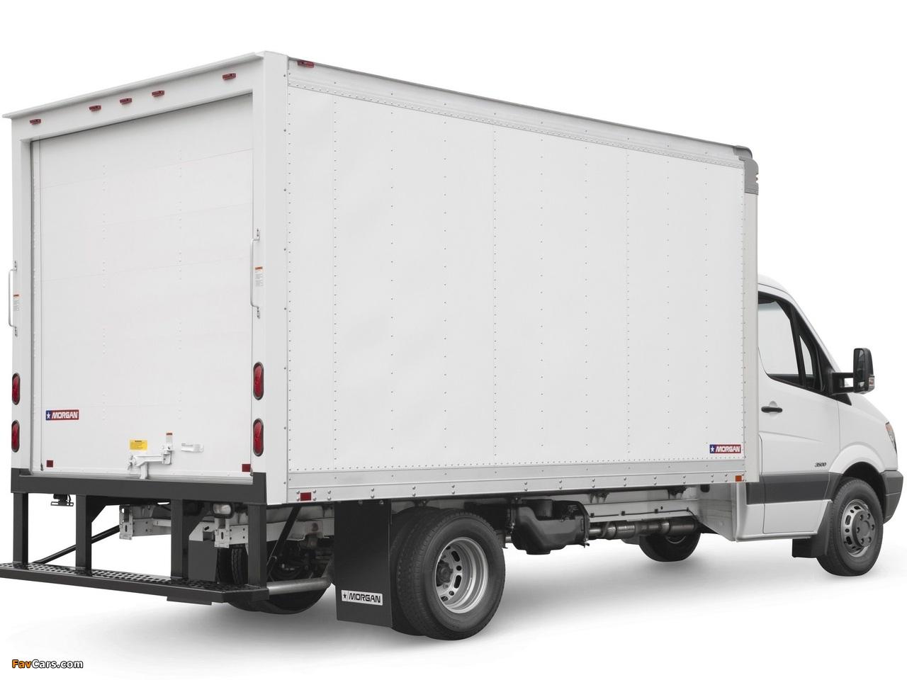 Freightliner Sprinter 3500 Box Van 2006 wallpapers (1280 x 960)
