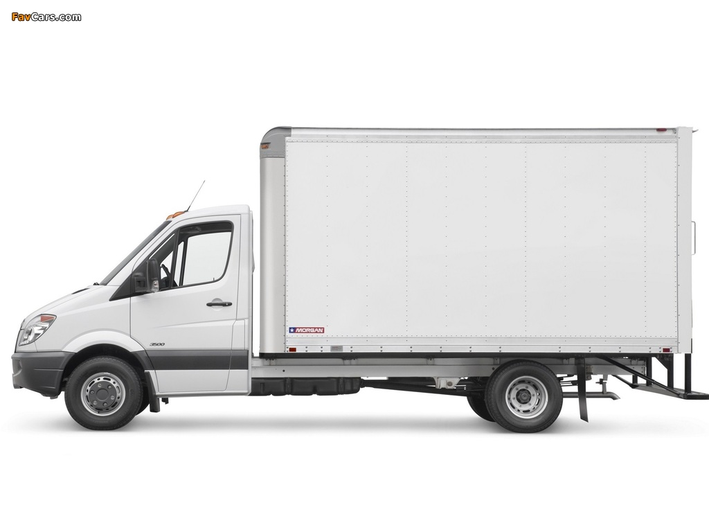 Images of Freightliner Sprinter 3500 Box Van 2006 (1024 x 768)