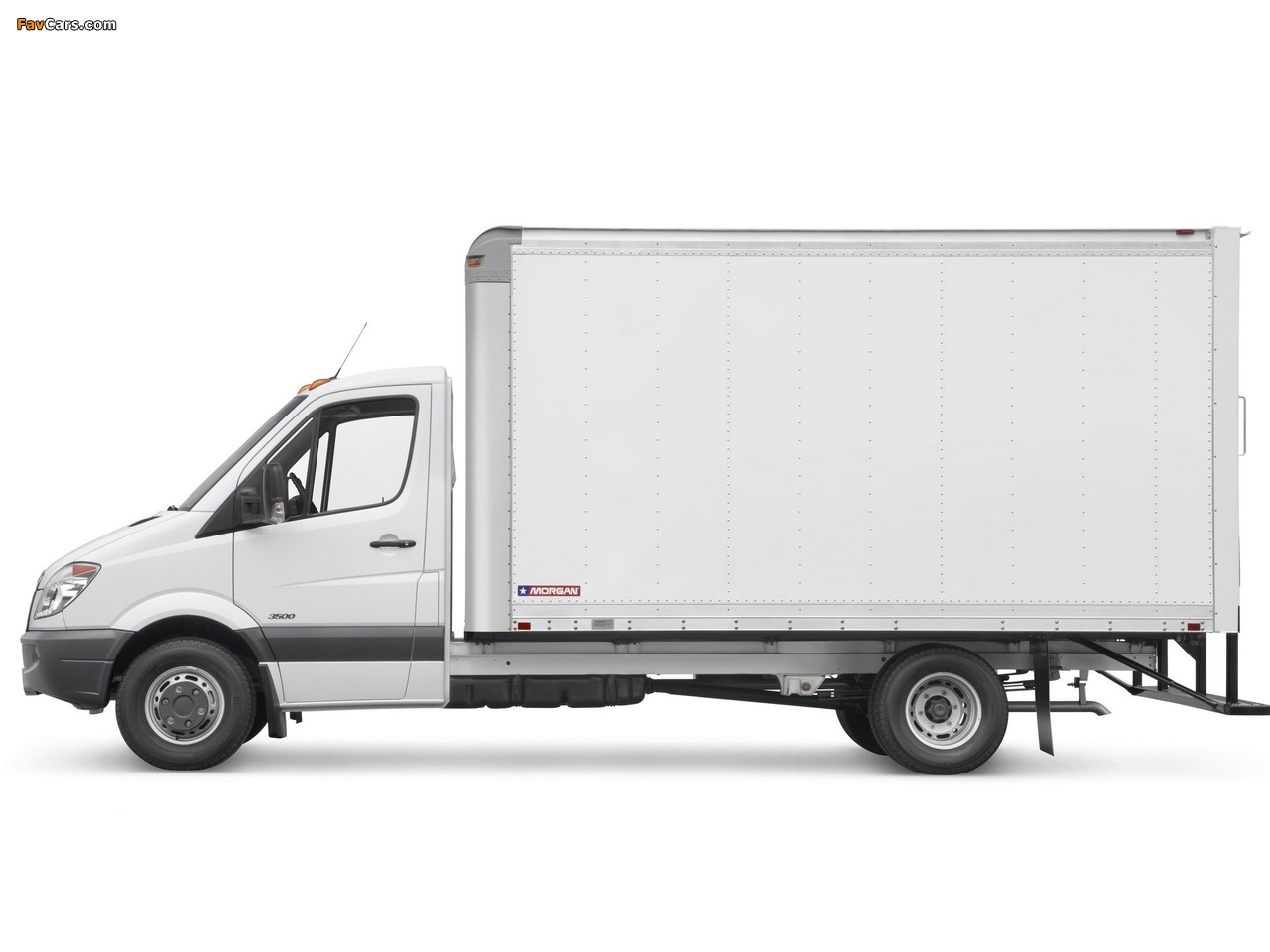 Images of Freightliner Sprinter 3500 Box Van 2006 (1280 x 960)