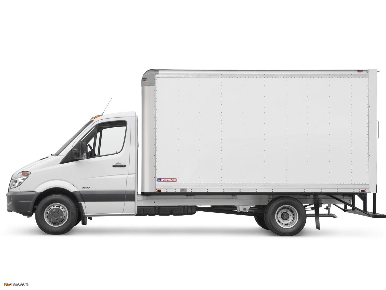 Images of Freightliner Sprinter 3500 Box Van 2006 (1600 x 1200)