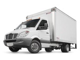 Freightliner Sprinter 3500 Box Van 2006 wallpapers