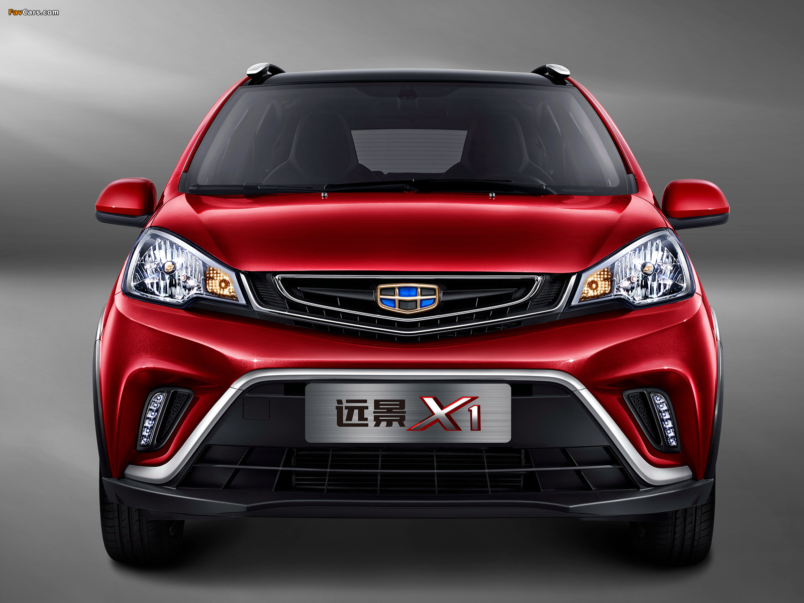 Geely Vision X1 2017 wallpapers (1600 x 1200)