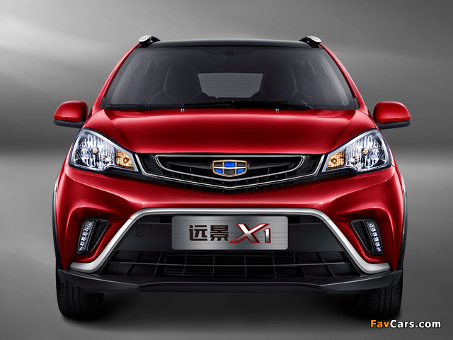 Geely Vision X1 2017 wallpapers (640 x 480)