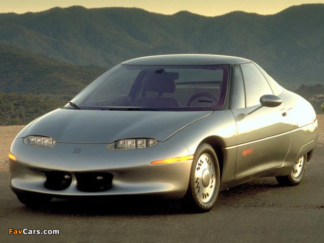 GM Impact Concept 1990 images (640 x 480)
