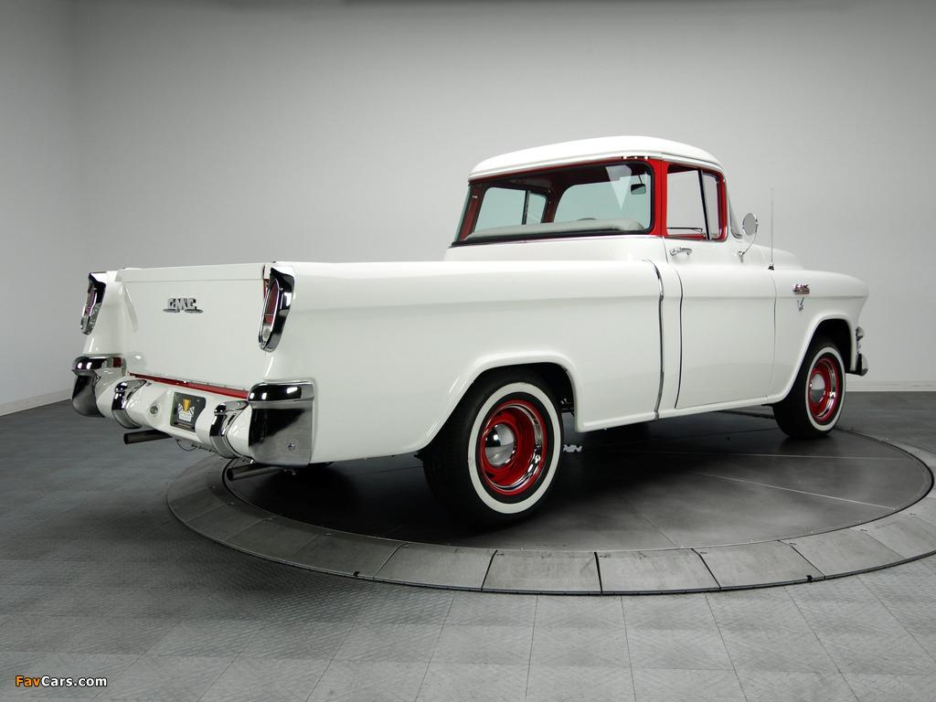 GMC S-100 Suburban Pickup 1955–56 images (1024 x 768)
