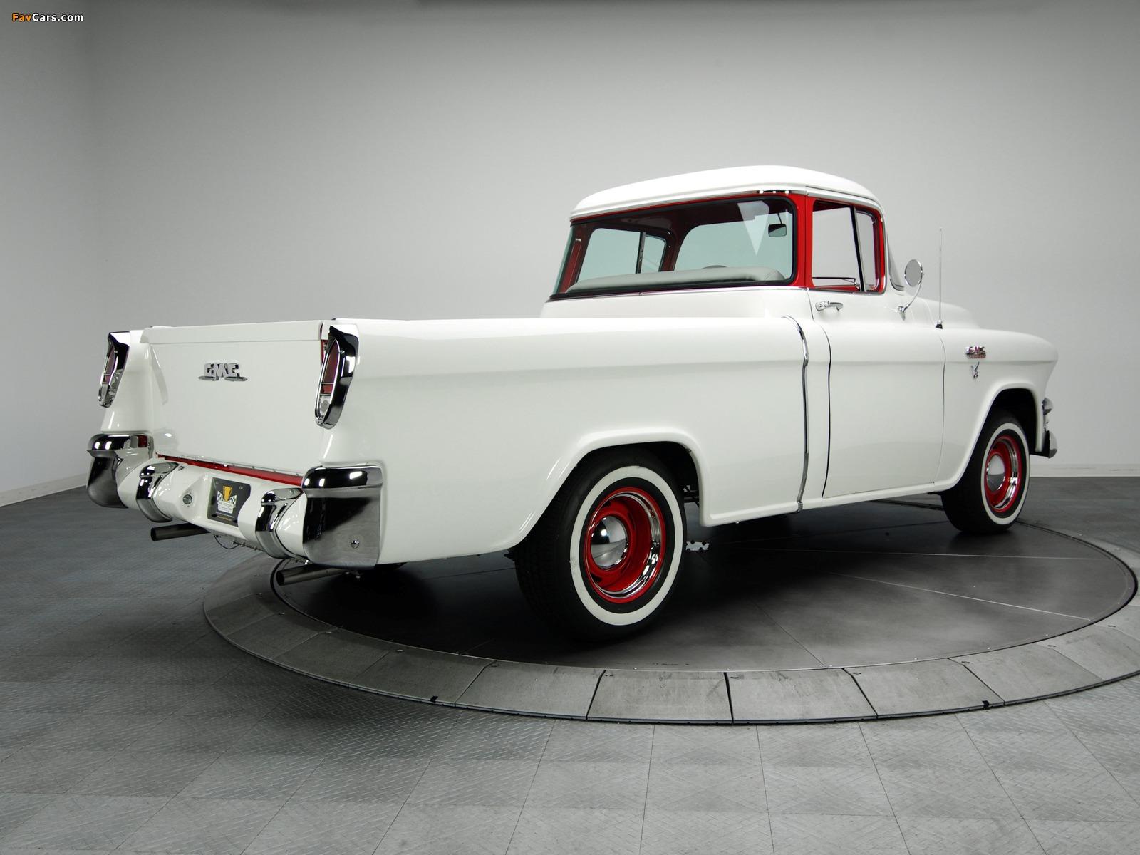 GMC S-100 Suburban Pickup 1955–56 images (1600 x 1200)