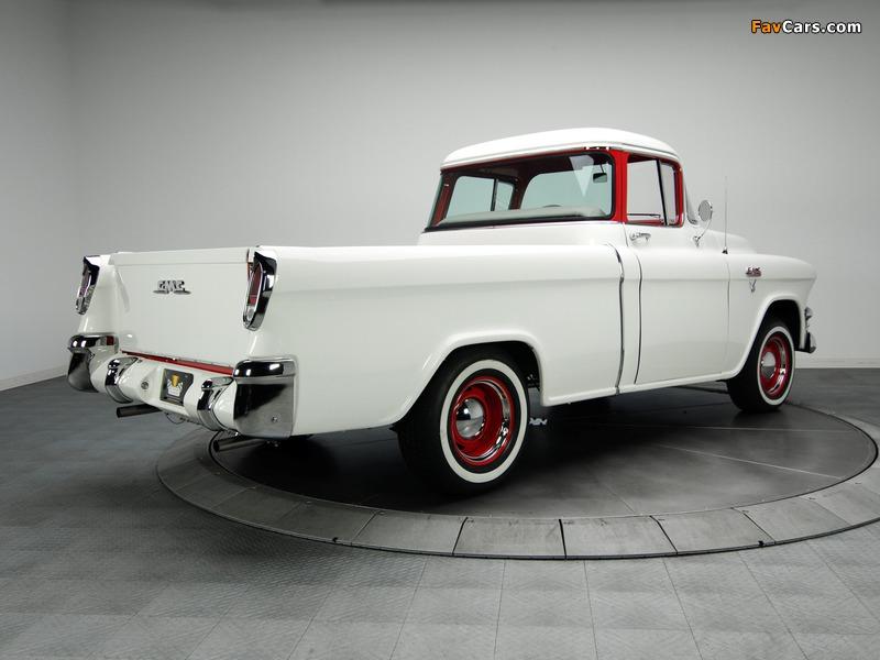 GMC S-100 Suburban Pickup 1955–56 images (800 x 600)