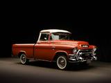 GMC S-100 Suburban Pickup 1955–56 photos