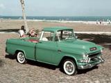 GMC S-100 Suburban Pickup 1955–56 pictures