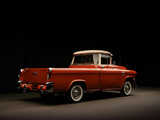 Pictures of GMC S-100 Suburban Pickup 1955–56