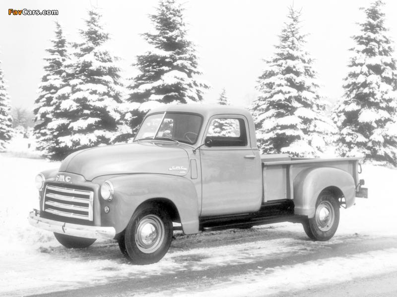GMC FC-101 ½-ton Pickup 1948 wallpapers (800 x 600)