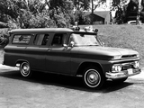 GMC 1001 Panel Ambulance Conversion 1962 images