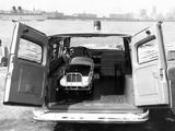 GMC 1001 Panel Ambulance Conversion 1962 photos