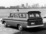 GMC 1001 Panel Ambulance Conversion 1962 wallpapers