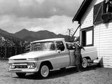 GMC 1000 Wideside Pickup Truck 1962 wallpapers
