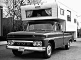 GMC 1000 Wolverine Camper Pickup Truck 1966 wallpapers