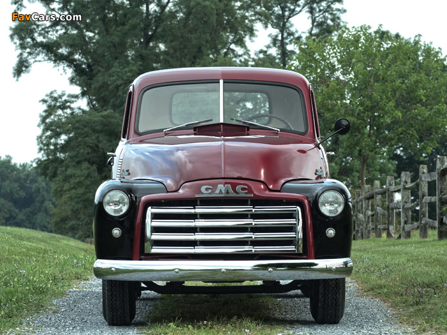 Images of GMC 150 ¾-ton Pickup Truck 1949 (640 x 480)