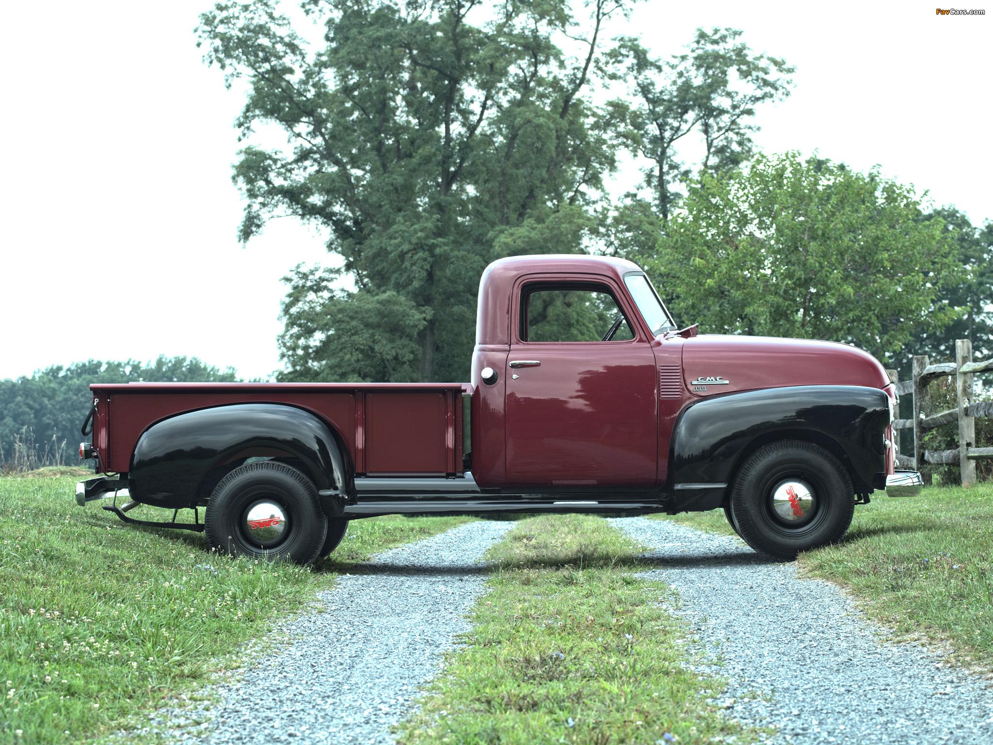 Photos of GMC 150 ¾-ton Pickup Truck 1949 (2048 x 1536)