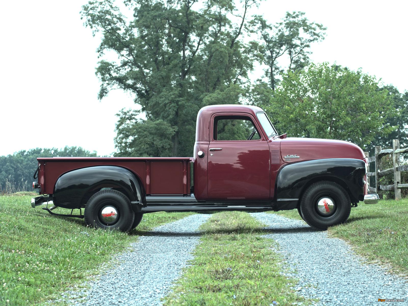 Photos of GMC 150 ¾-ton Pickup Truck 1949 (1600 x 1200)