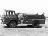 GMC L5000 Seagrave Firetruck 1964 photos
