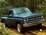 GMC Sierra Classic Fenderside 1977 images