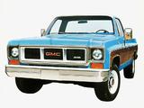 Images of GMC C3500 Regular Cab Pickup 1973