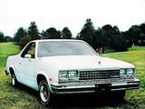GMC Caballero 1982 photos