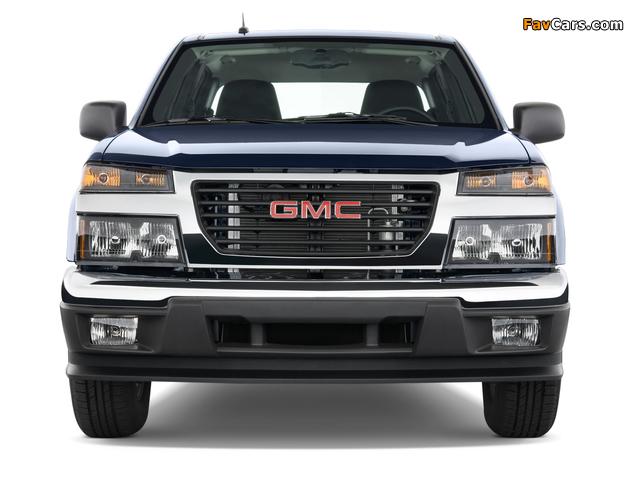 GMC Canyon Crew Cab 2003–12 images (640 x 480)