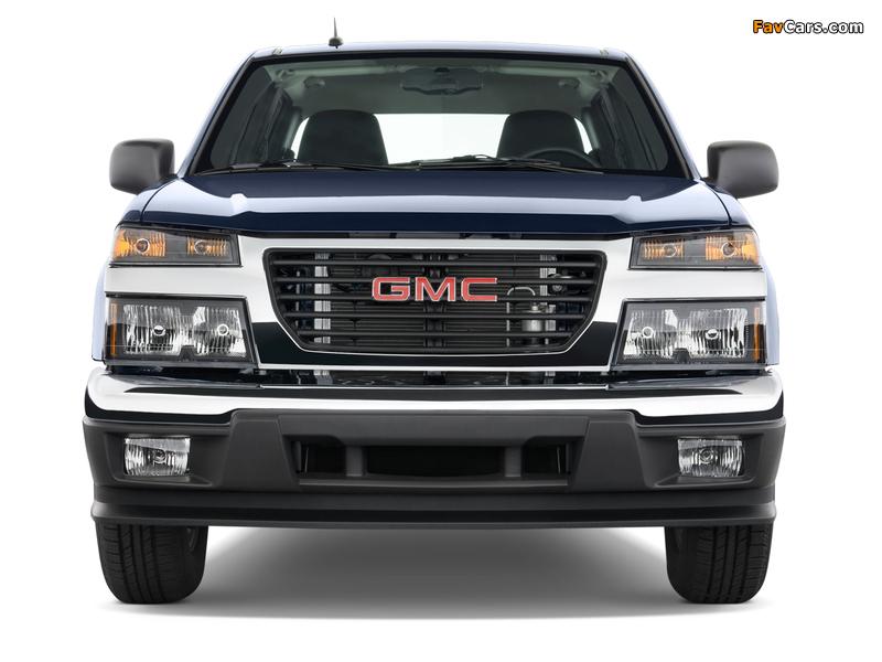 GMC Canyon Crew Cab 2003–12 images (800 x 600)