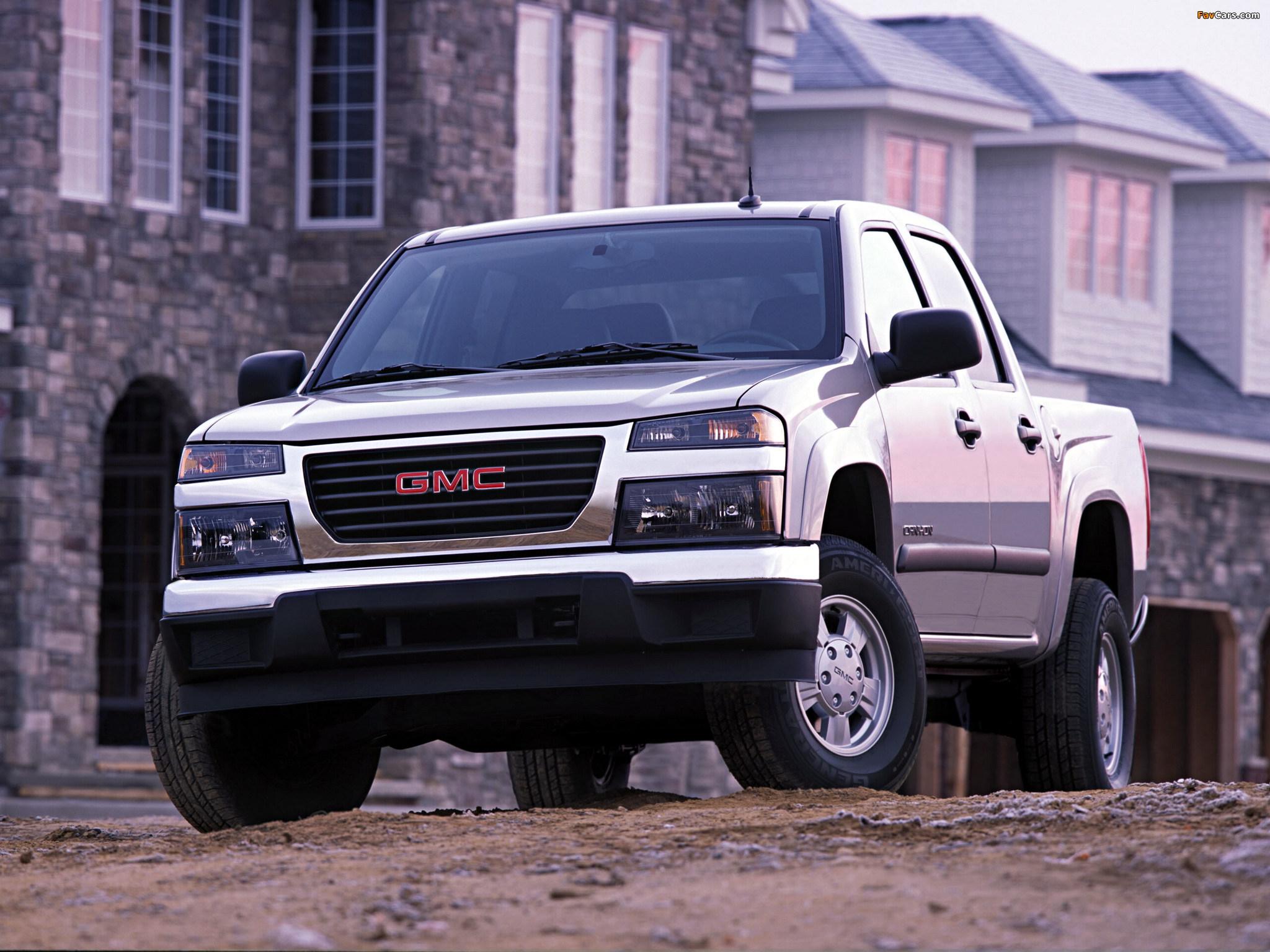 GMC Canyon Crew Cab 2003–12 images (2048 x 1536)
