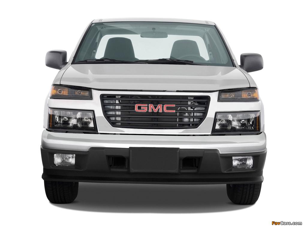 GMC Canyon Regular Cab 2003–12 pictures (1024 x 768)