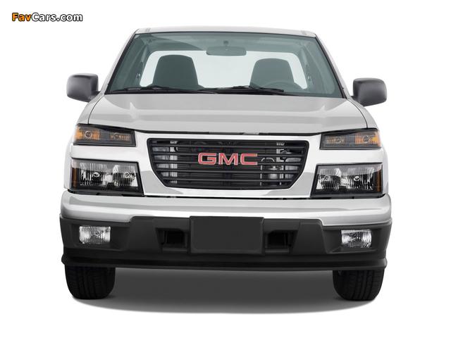 GMC Canyon Regular Cab 2003–12 pictures (640 x 480)