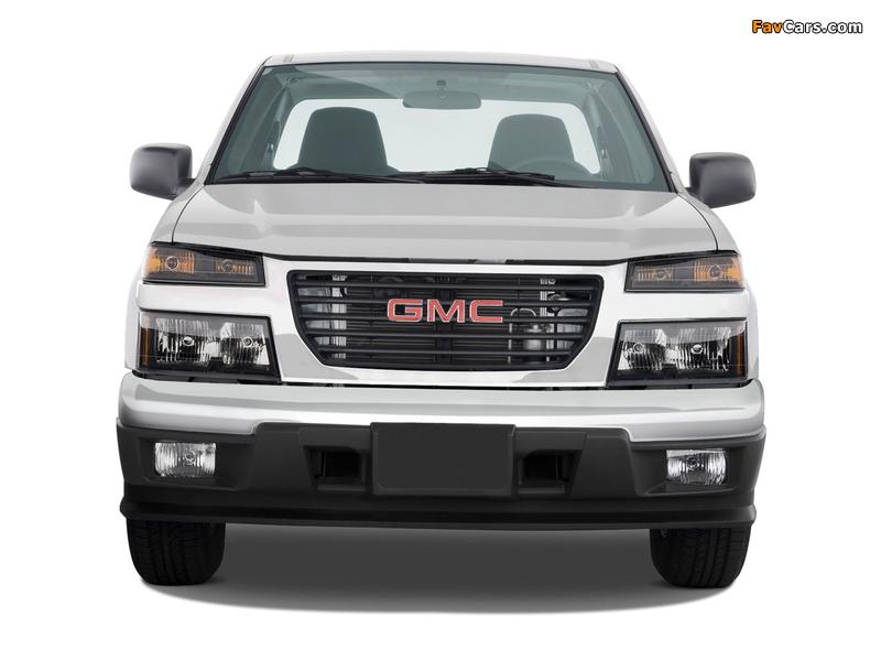 GMC Canyon Regular Cab 2003–12 pictures (800 x 600)